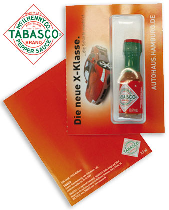 Hot Communication / Mini TABASCO